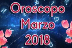 Oroscopo marzo 2018