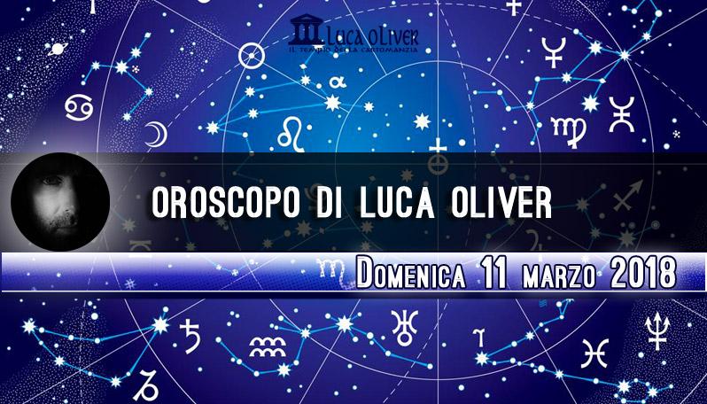 Oroscopo 11 marzo 2018