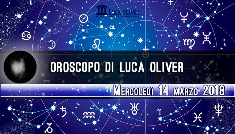 Oroscopo 14 marzo 2018