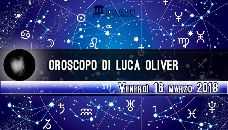 Oroscopo 16 marzo 2018