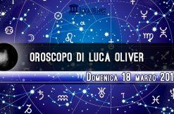 Oroscopo 18 marzo 2018