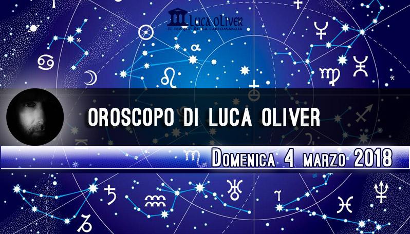 Oroscopo 4 marzo 2018