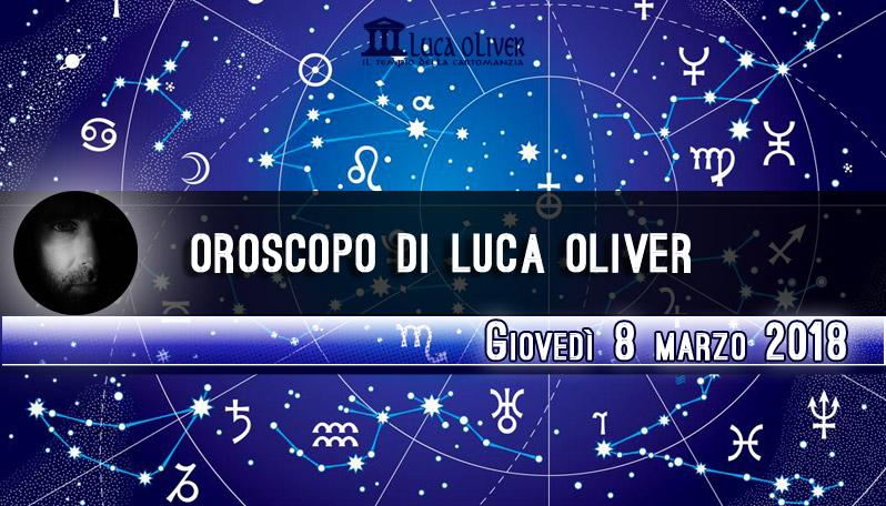 Oroscopo 8 marzo 2018