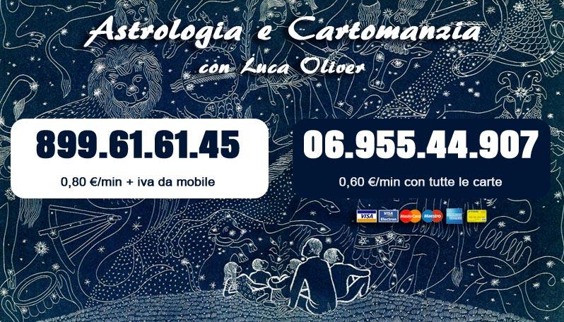 Astrologia e Cartomanzia con Luca Oliver